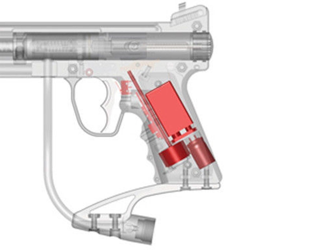 PAINTBALL TIPPMANN 98 Custom E-Grip Electronic Upgrade Kit by Loader
