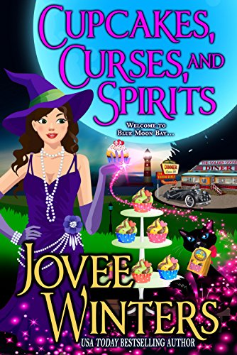 Cupcakes, Curses, and Spirits (Blue Moon Bay Book 3) by [Winters, Jovee]