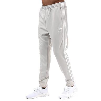 5ed0edb97e99 adidas Originals Pantalon SST Mesh Crème Homme  adidas Originals ...