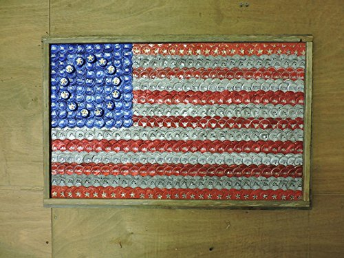 Bottle Cap Flag Of The United States 13 Colonies Stars