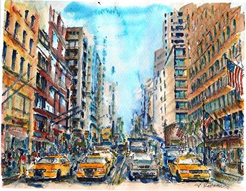 Original/Print of the Watercolor Painting