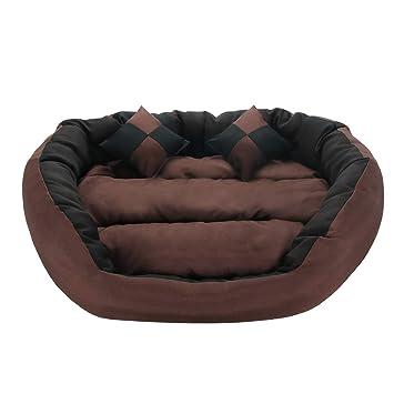 Amazon.com: Flow.Me, cama para perro de lujo lavable, sofá ...