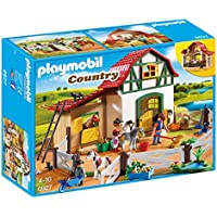 PLAYMOBIL® 6927 Country Pony Farm with 2 Pony Stalls and...