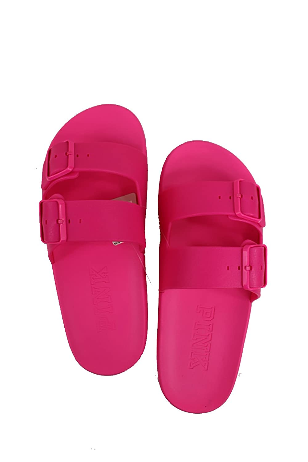 9d55a776baad2 victoria secret by spursgirl Victorias Secret Pink Buckle Slides Hot ...