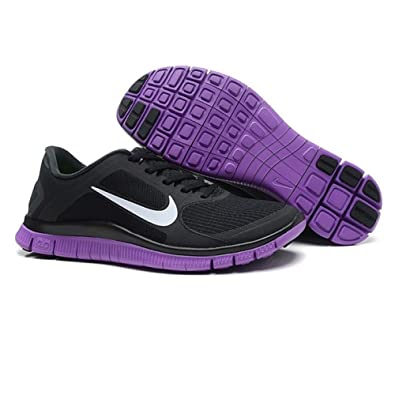 f1f170fd81cc Nike Free 4.0 V3 Running Shoes - Black-6 (EU40)  Amazon.co.uk  Shoes   Bags