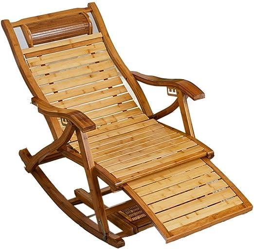 Q&Y-Silla plegable Tumbona de jardín, Tumbona Tumbona de Madera, Tumbona, Muebles de jardín Macizo: Amazon.es: Hogar
