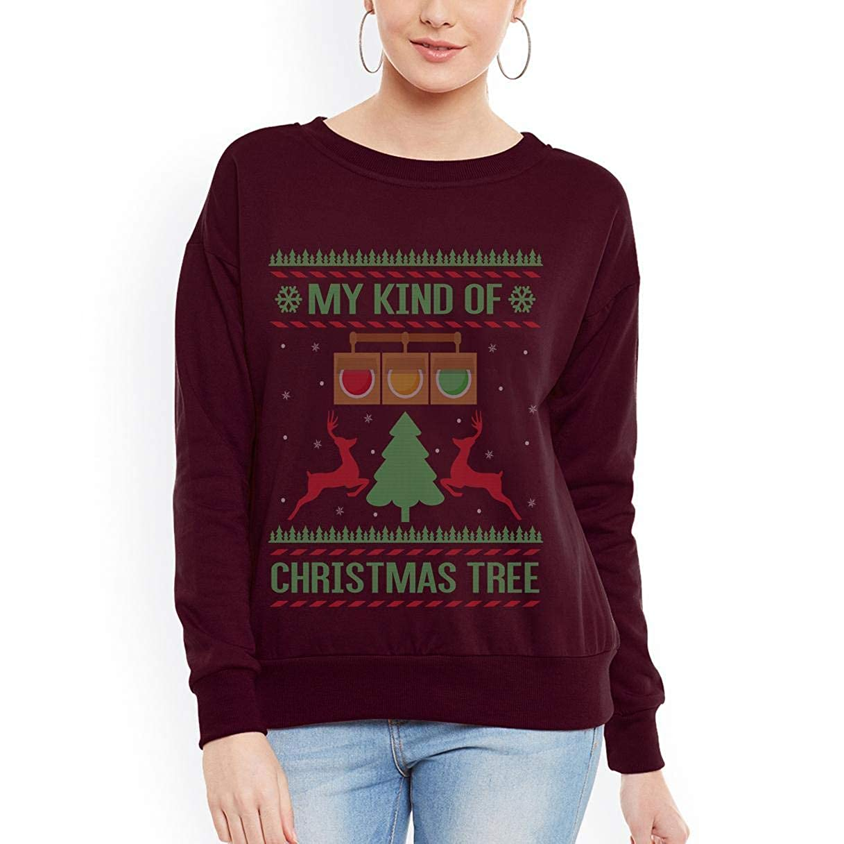 Doryti Drag Racing Christmas Tree Unisex Sweatshirt tee