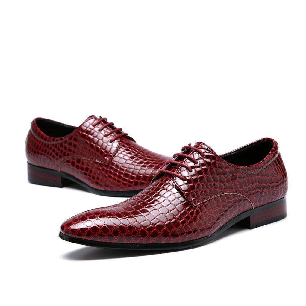 Giles Jones Mens Crocodile Pattern Leather Shoes Man Party Leather Dress Oxfords Shoes