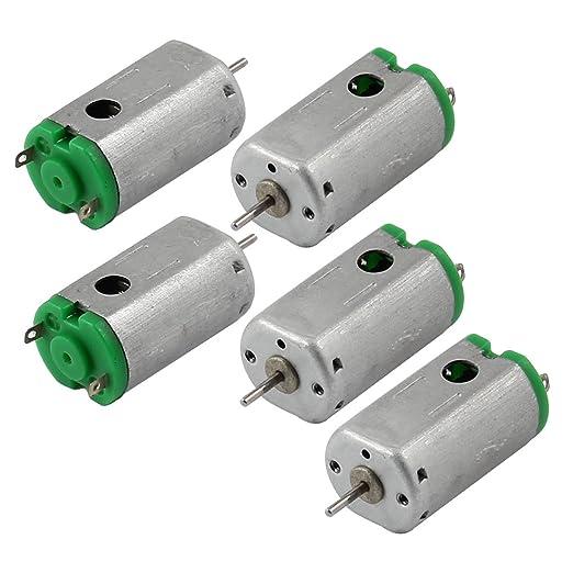 4 opinioni per Sourcingmap 5pezzi DC 3V 19300RPM Rotary velocità magnetico mini Motor per