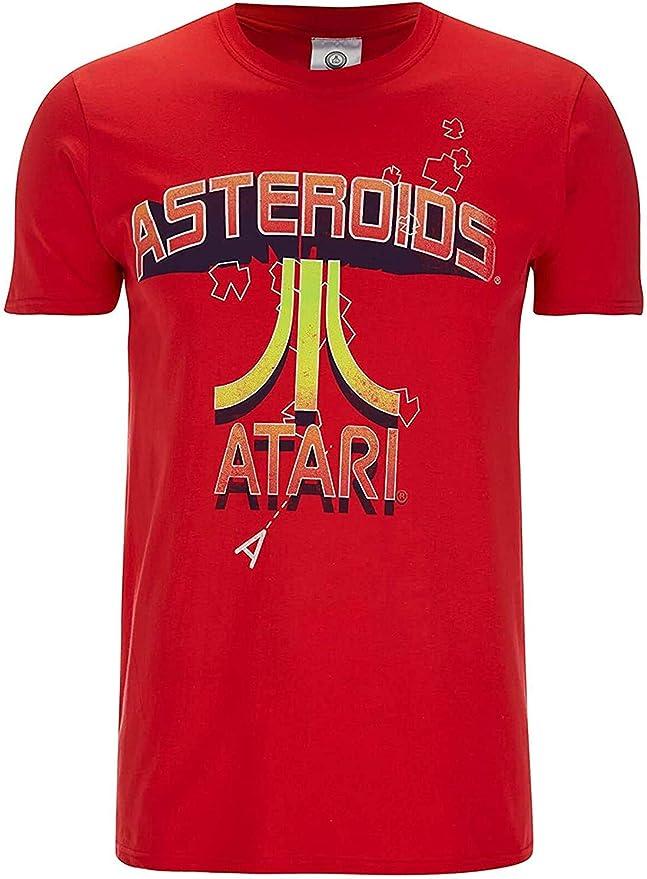 Red Atari Asteroids T-shirt