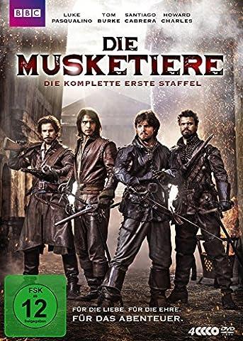 Die Musketiere - Die komplette 1. Staffel (# 1 Kostüm 2016)