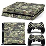 FriendlyTomato PS4 Console and DualShock 4 Controller Skin Set - Camo Military Soldier Warrior - PlayStation 4 Vinyl