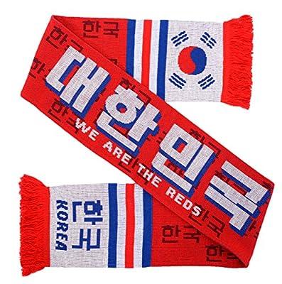 Korea South Soccer Knit Scarf