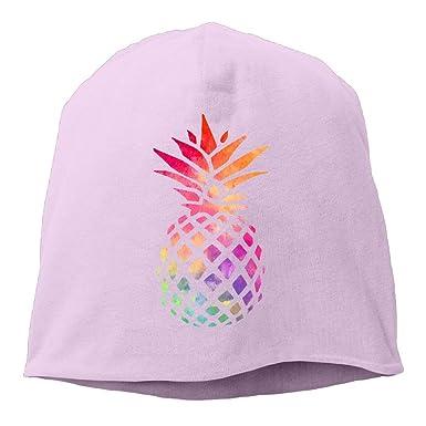 Gorros de piña de Color Gorras de Calavera Sombrero de algodón ...