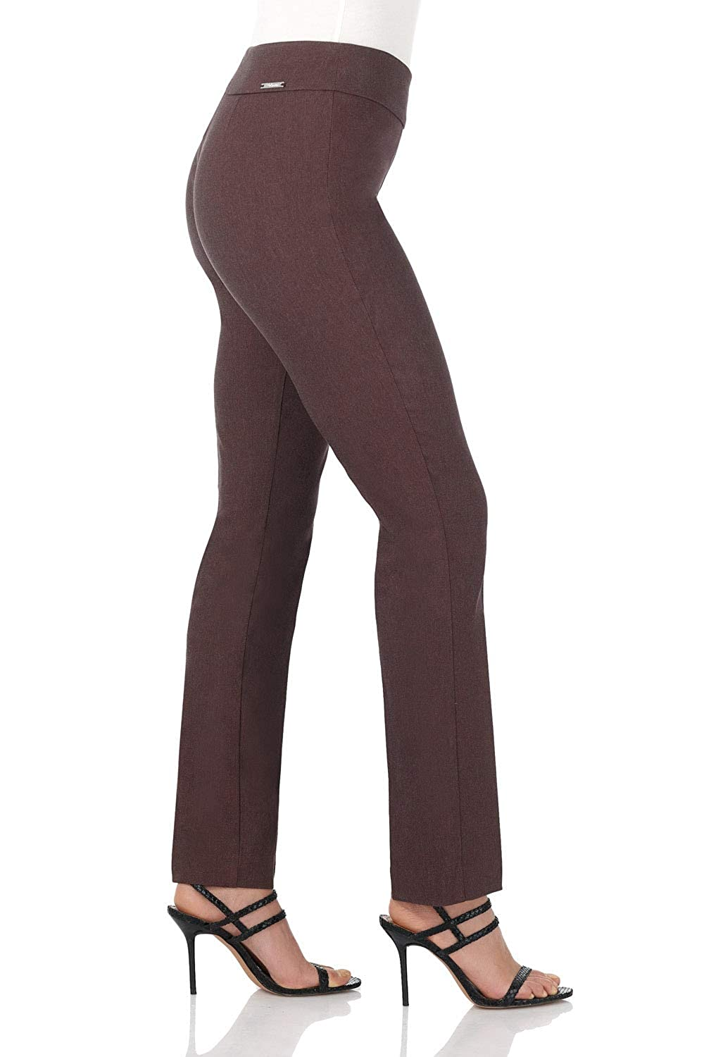 69e5f30bdb9 Rekucci Women s Ease in to Comfort Straight Leg Pant with Tummy Control   Amazon.ca  Clothing   Accessories