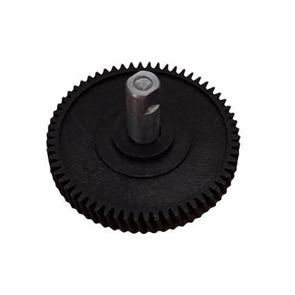 Diameter 49 mm 62 Teeth ESC ESR519FBA Sunroof Repair Gear with Shaft for Mini Cooper 62 Teeth
