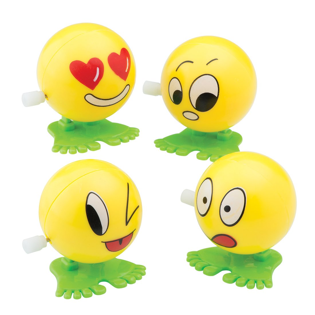 SmileMakers Wind Up Emojis - Prizes 24 per Pack by SmileMakers (Image #1)