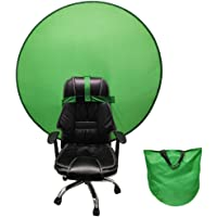 Lingna Pantalla de Fondo de Fondo Verde portátil 4.65ft para Photo Video Studio (Verde)