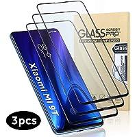 GeeRic Protector de Pantalla Compatible Xiaomi Mi 9T (Paquete de 3)[Cobertura Completa] Vidrio Cristal Templado para Xiaomi Mi 9T