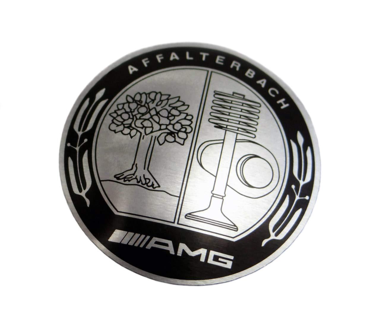 AMG Affalterbach style Logo - Shift Knob Emblem - Badge for gear shifter knob - for Mercedes-Benz vehicles - 1 pc - diameter 1 7/64 inch - 2,8 cm