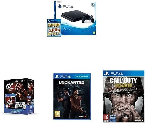 PlayStation 4 Slim (PS4) - Consola De 500 GB + ¡Has Sido Tú! + ...