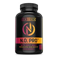 Zhou Nutrition Nitric Oxide Supplement with L Arginine, Citrulline Malate, AAKG...