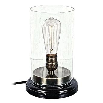Vintage Edison Style Lightbulb Table Lamp By DEI