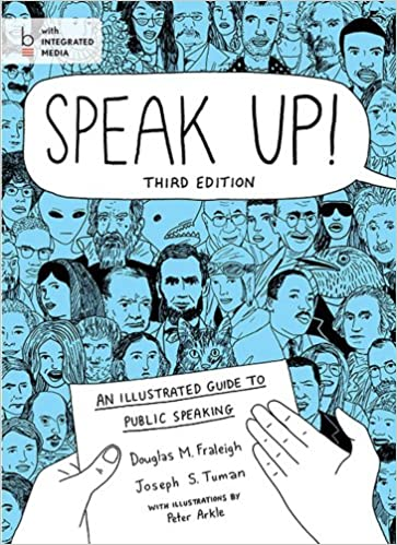 Speak Up An Illustrated Guide To Public Speaking Douglas M