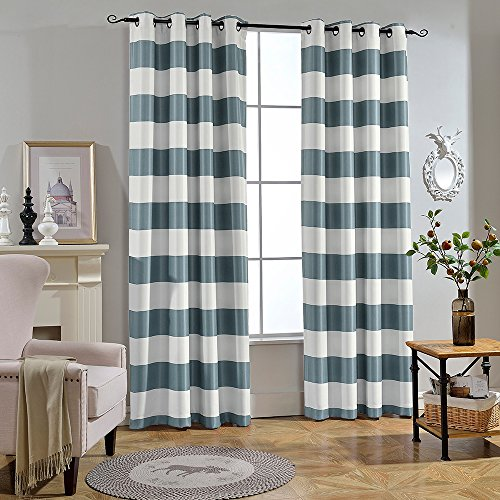 Melodieux Fashion Darkening Blackout Curtains