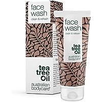 Australian Bodycare Face Wash - Gesichtsreinigung Unreine Haut - 100% Vegane Gesichtswäsche mit Natürlichem Teebaumöl - Gesichtswasser Gegen Pickel, Mitesser und Unreine Haut. Bekannt aus der Apotheke