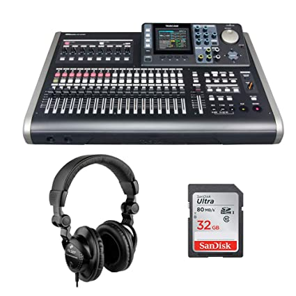 Amazon.com: Tascam DP-24SD Portastudio digital de 24 pistas ...