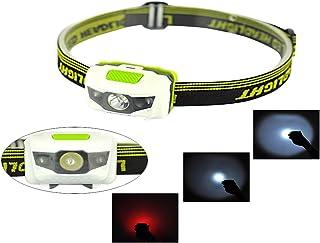 LED Projektor Kopf Head Taschenlampe Fackel 3Führte Wasser und Schock robust mit estroboscópio rot für die Fischerei im Freien Wandern