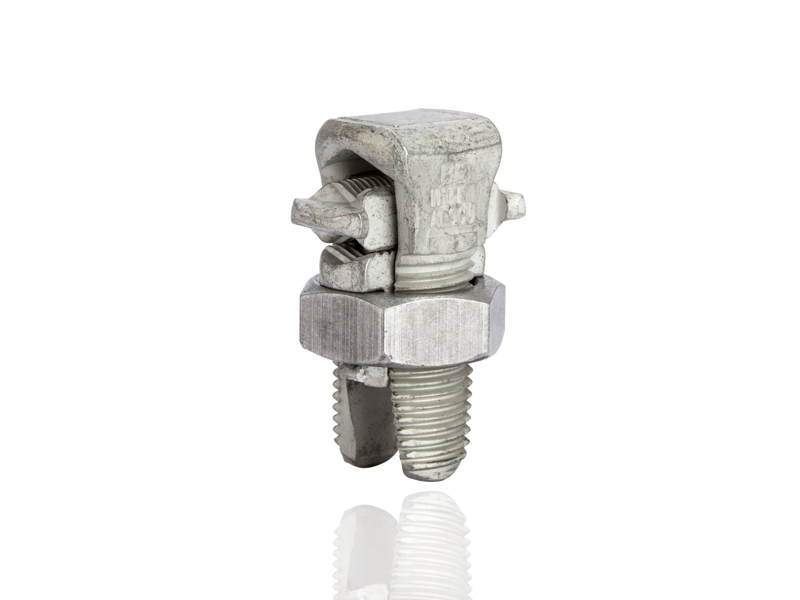 Aluminum Dual-Rated Split Bolt - APS Series, 0.162'' - 0.375'' Wire Diameter Range, 385lbs Torque