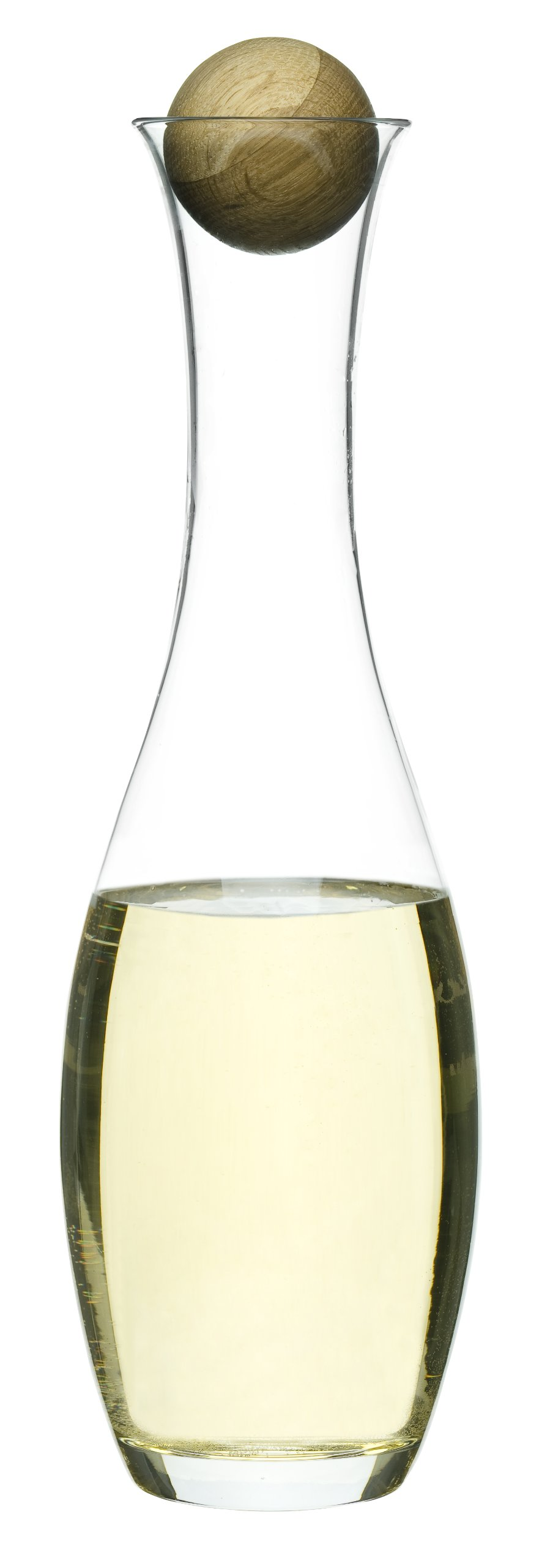 Sagaform 5015336 Wine/Water Carafe with Oak Stopper