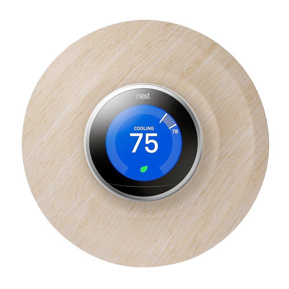 Cubretermostato Holaca de 18,5 cm para termostato Nest de 1.ª, 2.ª y 3.ª generación, Oak Pattern: Amazon.es: Deportes y aire libre