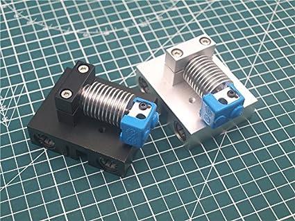 WillBest - Kit de montaje para impresoras 3D (aluminio, V6, Hotend ...