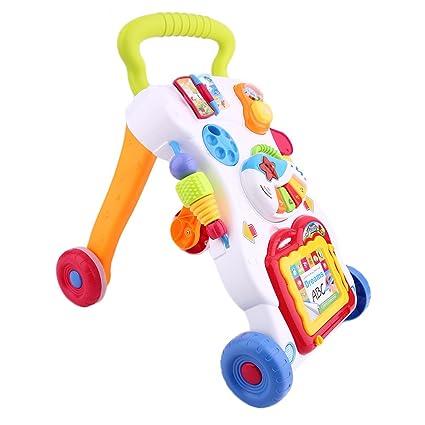 sweepid unidad Carrito Andador Baby Walker con música luces Juego (juguete gehfrei Andador Baby Walker