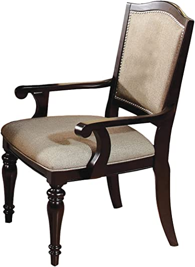 Furniture of America Glentelle Formal Arm Chair