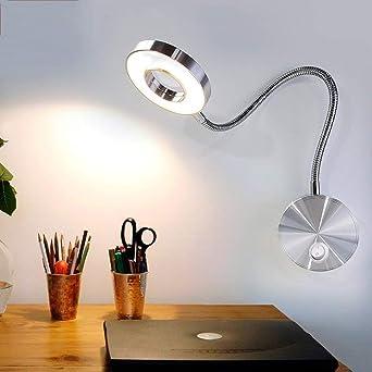 Manguera LED de 5W Lámpara de pared Lámpara de pared de lectura de ...