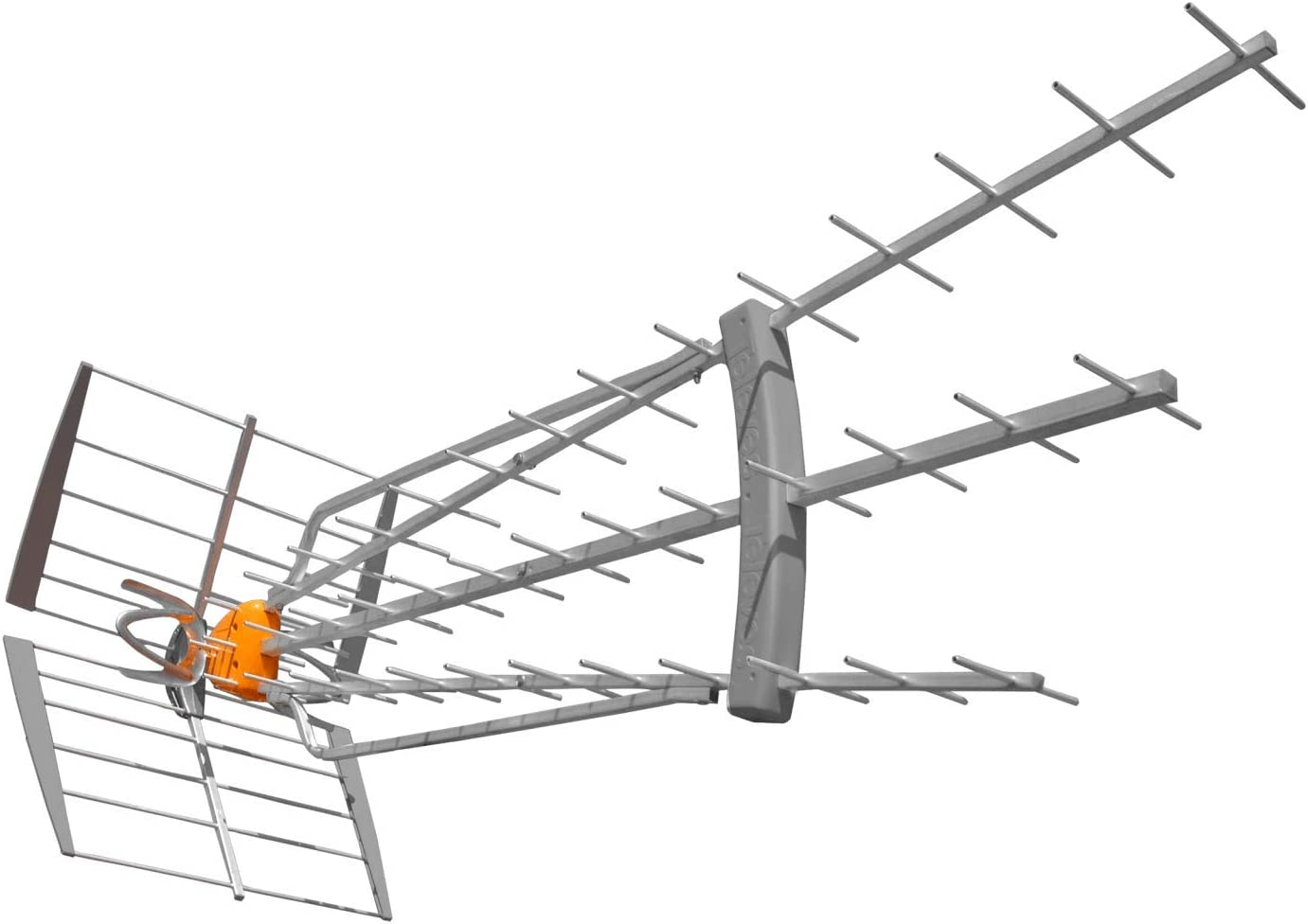 Antena TDT-UHF 47dB DAT Boss LR LTE 5G Televes: Amazon.es ...