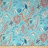 Dena Home 0528760 Designs Indoor/Outdoor Sun Dream Reef Fabric by The Yard
