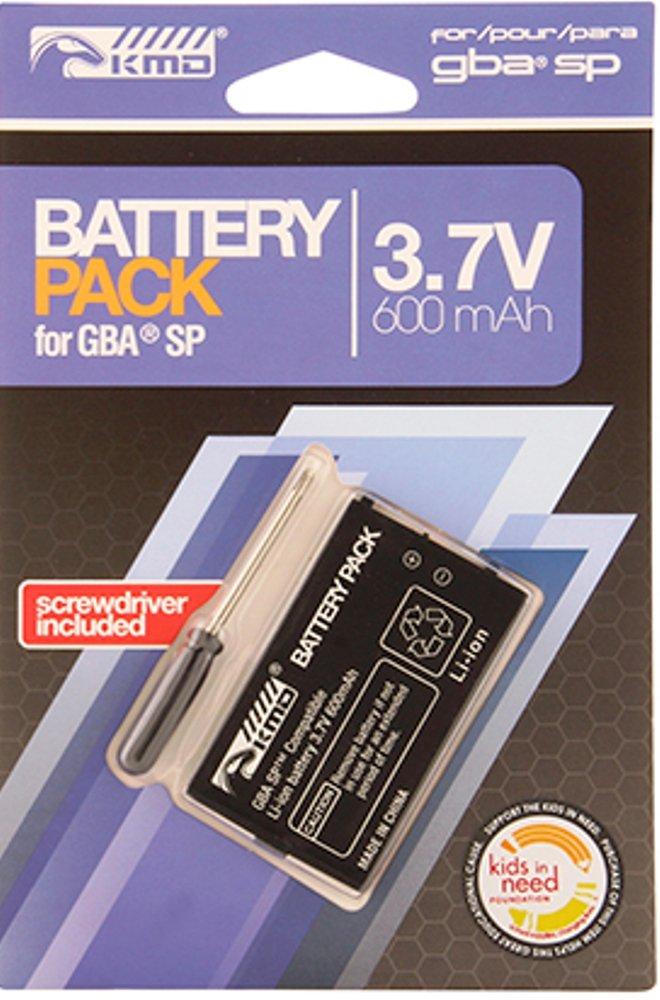 Bateria Para Game Boy Advance Sp (3.7v, 600mah)
