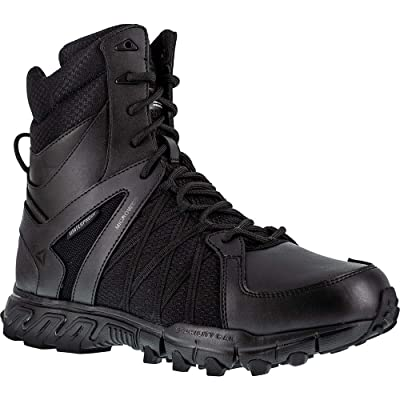 Men's TRAILGRIP TACTICAL Waterproof Insulated Boot, 11-M Black: Shoes