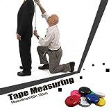 Tape Measure Push Button Soft Retractable Handy