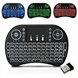 Seneo 2.4Ghz Multi-media Portable Wireless Handheld Mini Touchpad Keyboard with Backlit LED