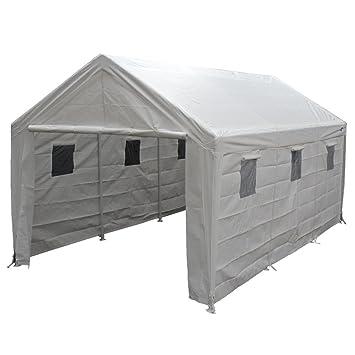 King Canopy Hercules 10 x 20 Foot 8 Leg Universal Carport Shelter White  sc 1 st  Amazon.com & Amazon.com : King Canopy Hercules 10 x 20 Foot 8 Leg Universal ...