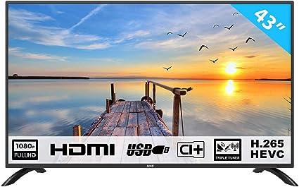 HKC 43F3 Televisor LED de 109 cm (43 Pulgadas) (Full HD ...
