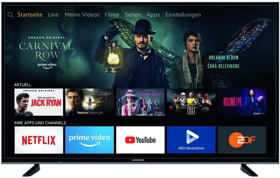 Grundig TV 4K Ultra HD TV 55 GUB 7065: Amazon.es: Electrónica