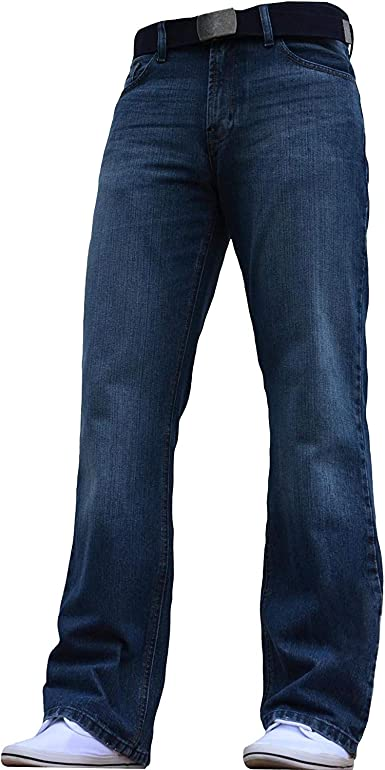 BNWT - Pantalones vaqueros para hombre con corte de botas ...
