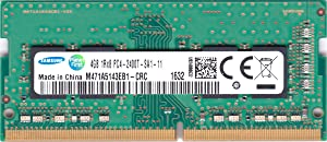 Samsung 4GB DDR4 PC4-19200, 2400MHz, 260 PIN SODIMM, CL 17, 1.2V, ram Memory Module, M471A5143EB1-CRC